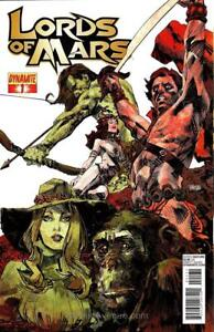 Lords of Mars (Vol. 1) #1B VF/NM; Dynamite | save on shipping - details inside