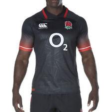 Abbiglimento sportivo da uomo di lunghezza della manica manica corta Rugby taglia L