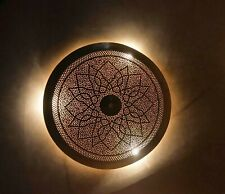 Moroccan wall and Roof lamp Sunlight lamp handmade, 40 cm