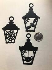 6 Halloween Lanterns Premade PAPER Die Cuts / Scrapbook & Card Making