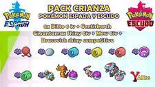 Pack Crianza Pokemon Espada Escudo Ditto 6 iv shiny japones sword shield breed
