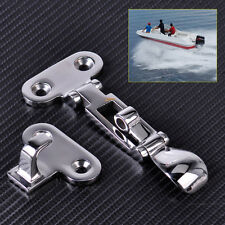 Silver Stainless Steel Marine Boat Locker Anti-Rattle Anti Lock Fastener Clamp