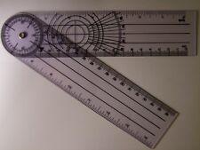 Règle professionnelle articulée, multi-mesure, longueur, rapporteur d'angle HO O