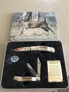 Gerber 2007 Collector's Edition Antlered Game Series Pocket Knife Set
