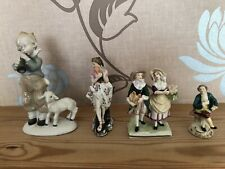 Dresden Figurines. Job Lot X 4.