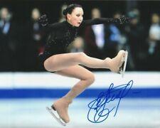 ELIZAVETA TUKTAMYSHEVA SIGNED RUSSIA FIGURE SKATING 8x10 PHOTO #2 Autograph