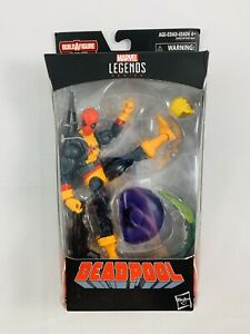 Marvel Legends Deadpool in X-Men Suit with Madcap Sauron BAF Wave Brand New