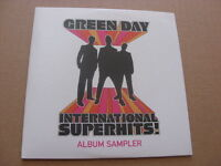 Green Day:  International Superhits Album Sampler  RARE  PROMO  CD     NM