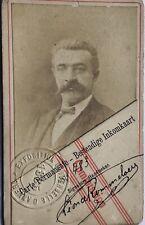 Anver's 1885 Expo Commission CDV ALBUMEN PHOTOGRAPHS