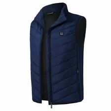 Heating Vest Winter Thermal Jacket Outdoor Sport Tactical Warm Black Men Women