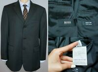 Men Hugo Boss Blazer Jacket Da Vinci/Lucca Virgin Wool L IT50 US UK 40 QAA355