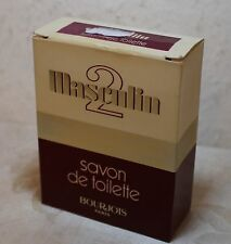 100g.Seife/Soap De Toilette Masculin 2  Bourjois Paris (Vintage)