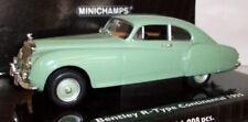Voitures, camions et fourgons miniatures verts MINICHAMPS pour Bentley