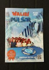 Walibi Belgium 2017 Theme Park Map Roller Coaster Amusement