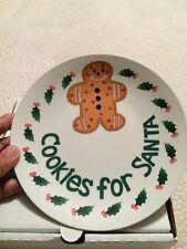 """Cookies For Santa"" Plate"
