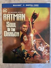 DC Universe Movie Batman Soul Of The Dragon Blu-Ray + Digital Brand New Sealed