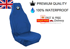 BMW ALPINA CAR SEAT COVER PROTECTOR 100% WATERPROOF / HEAVY DUTY /  BLUE