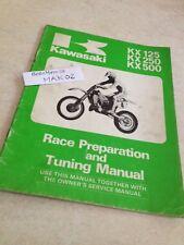 Kawasaki KX 125 250 500 KX125 KX250 KX500 guide preparation tuning manual éd.85