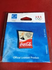 Coca Cola Olympic Torch Relay Athens 2004 Pin Coke USA