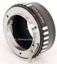 EXAKTA / Exa 35mm SLR Camera Mount to Panasonic Lumix SONY Micro 4/3 Adapter NEW