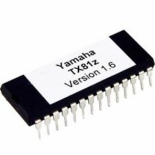 Yamaha TX81z Updated Firmware EPROM Version 1.6 OS Upgrade