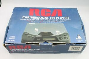 RCA Car/Personal Portable CD Player RP-7906 Brand New Old Stock NIOB