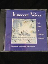 Innocent Voices: The Verse of Terezin's Children by Various Artists sealed