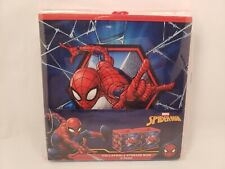 Marvel Spider-Man Collapsible Storage Cube Bin Pack of 2 9 x 9 x 9In
