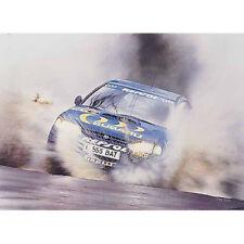 "Colin McRae Subaru WRC World Rally 1994 ""1st in the Q""  Wayne Vickery Print"