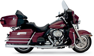 """Supertrapp Stout Slip-On 4"""" Mufflers Performance Exhaust 140-65224 for Harleys"""