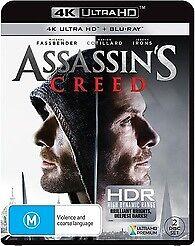 ASSASSIN'S CREED 4K ULTRA HD & BLU RAY - NEW & SEALED ASSASSINS FREE POST