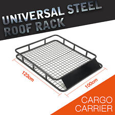 1.23M Universal 4WD Roof Rack/ Car Top Basket Luggage Carrier Holder