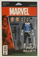 Bullseye #1 Homicidal Maniac CHRISTOPHER ACTION FIGURE Variant Cover GEMINI SHIP