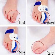 1Pair Foot Toe Corrector Orthopedic Care Tool Straightener Bunion Hallux Valgus