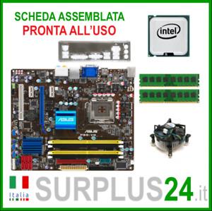 ASUS P5Q-VM + Core™2 Quad Q9300+4GB RAM Kit Placa Base 775 I/O #1841