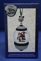 Disney Store 30th Anniversary Snowglobe Sketchbook Ornament Jack Skellington