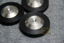 8 pcs Speaker AMP DAC CD Spike Base Pad Isolation Feet Improve Sound 49x12mm LB4