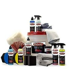 Adam's Essentials Complete Car Detailing Kit GREAT GIFT POLISH WAX SHINE