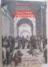 Breve Dizionario della Filosofia R. Del Re