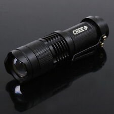 Ultrafire LED Flashlight 300LM Torch CREE Q5 Light Lamp AA 14500 battery Camping