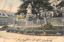 AK Annaberg i. Erzgeb. Luther-Denkmal Postkarte gel. 1906