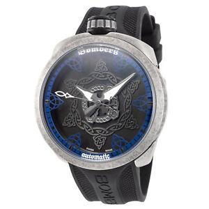 Bomberg BS45AOSP.057-1.3 Men's Bolt-68 45mm Swiss Automatic Blue Dial Watch