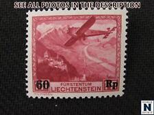 NobleSpirit No Reserve (TH2) Excellent Liechtenstein C14 Mint NH VF = $130 CV