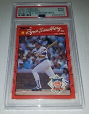 1990 DONRUSS #692 RYNE SANDBERG ERROR CARD PSA 9 MINT POP 2 SUPER RARE