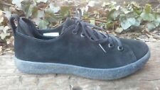 Womens Bluprint Black Leather Casual Walking Shoes Size 7 / 38.5