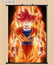 Poster NEW Anime Dragon Ball Son Goku Wall Home Decor Scroll DIY #dble4pf