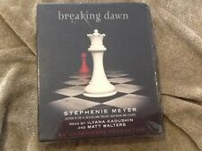 LISTENING LIBRARY BREAKING DAWN COMPACT DISCS 16 STEPHANIE MEYER NEW FACTORY