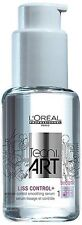 L'Oreal Tecni Art Liss Control Smoothing Hair Serum Shines & Smoothes 50ml