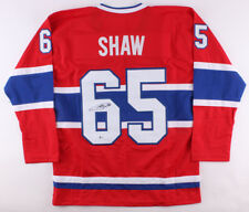 0a03891979b Andrew Shaw Signed Canadiens Jersey (Beckett) 2x Stanley Cup Champ 2013 &  2015