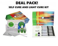 DEAL PACK!! Prime Dent Dental Self Cure Composite Resin Kit AND Light Cure Kit